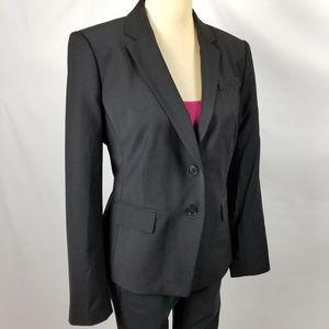 Ann Taylor | Petite Black Wool Blend Blazer